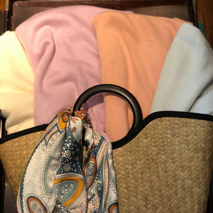 Travel Poncho Pastel - Inspired Evanston