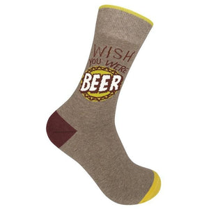 Wish You Were Beer Socks - Inspired Evanston