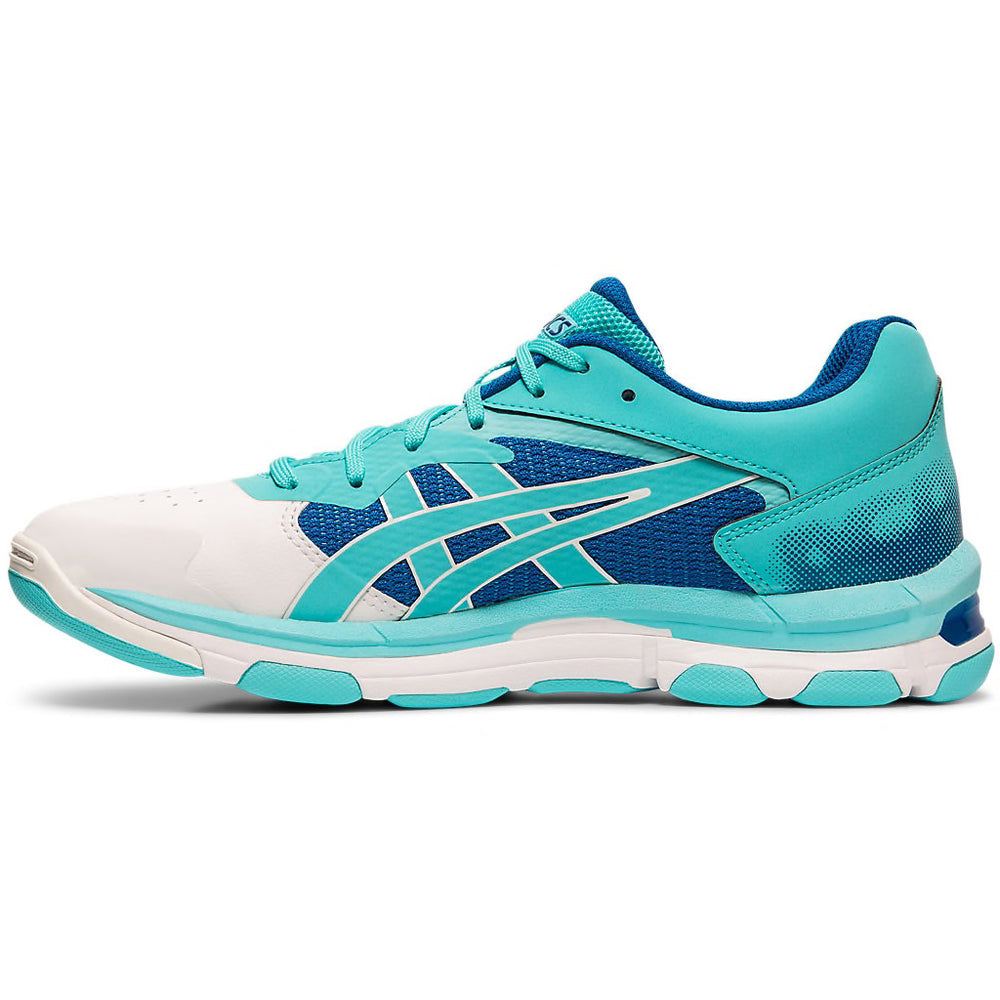 Asics Gel Netburner Academy 8 Ice Mint Netball Trainers - Nutz About Netball