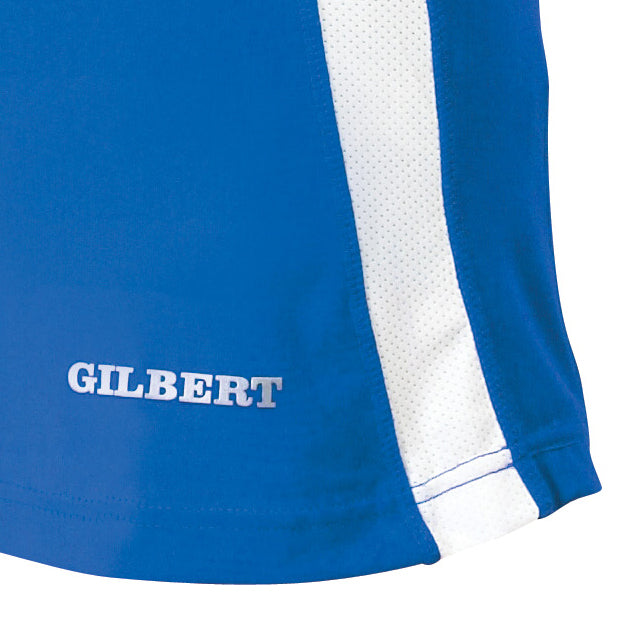 Gilbert Eclipse Netball Dress Royal Blue/White - Nutz About Netball