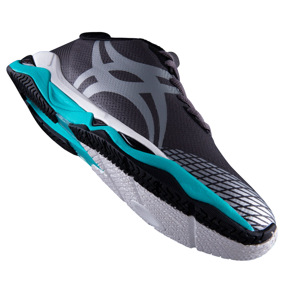 Gilbert Evolution Netball Trainers Charcoal Junior Sizes - Nutz About Netball