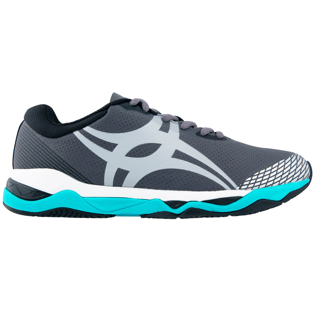 Gilbert Evolution Netball Trainers Charcoal - Nutz About Netball