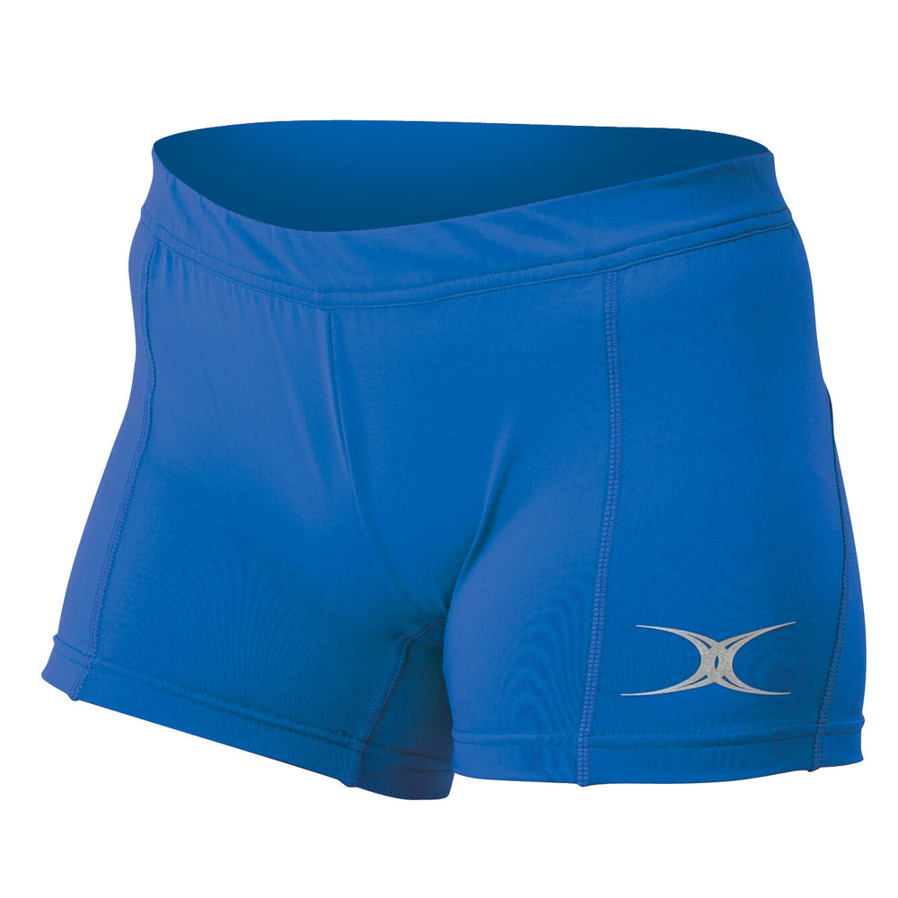Gilbert Eclipse Netball Shorts Royal Blue - Nutz About Netball
