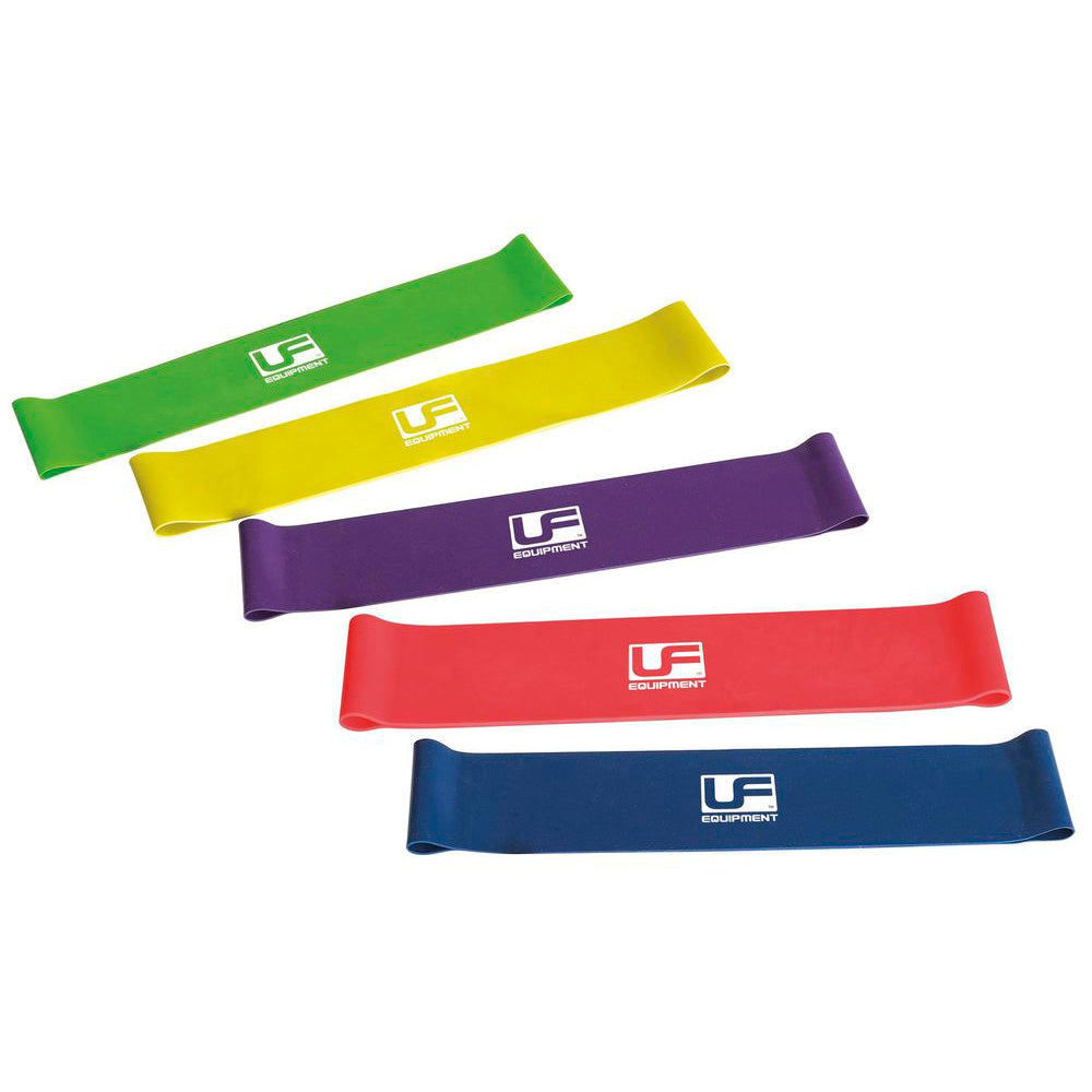 Urban Fitness Resistance Band Loop (Set of 5) 10 Inch - Nutz About Netball