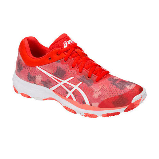 ASICS Gel Netburner Professional FF Fiery Red Netball Trainers - Nutz About Netball