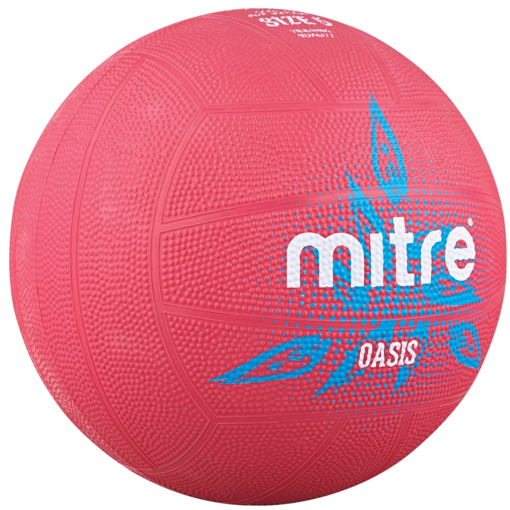 Mitre Pink Oasis Netball - Nutz About Netball