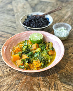 Superfood Curry and Black Rice