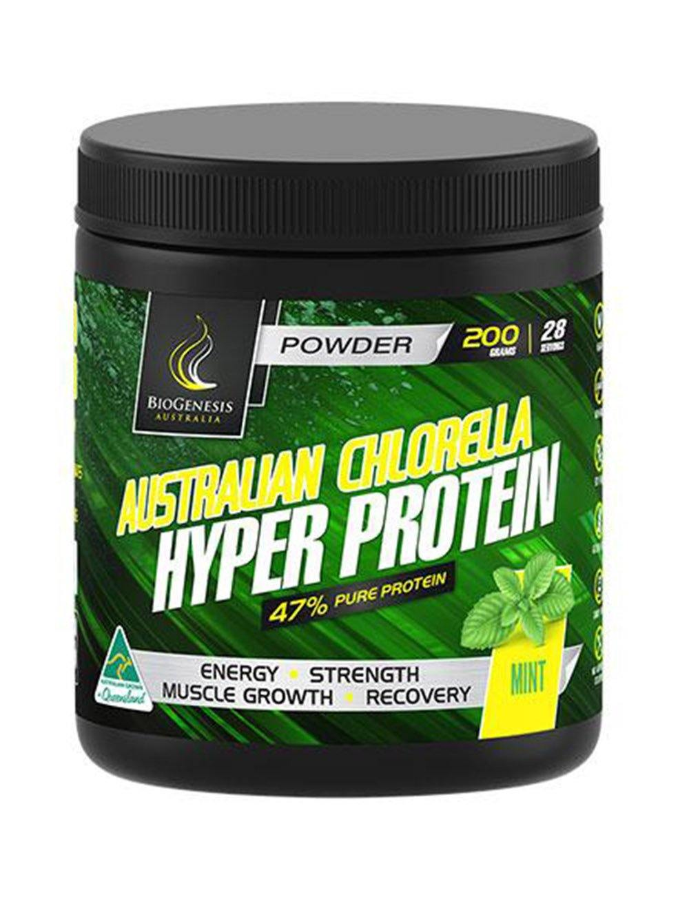 Vegan Protein Powder Mint Flavor