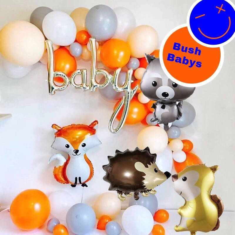 Baby and Animals Balloon Garland - Live Shopping Tours