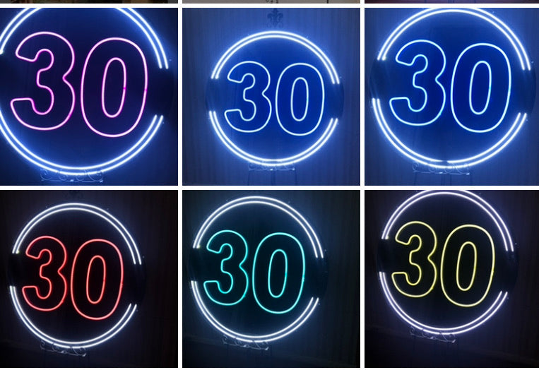 30th NEON LIGHT HIRE - Live Shopping Tours