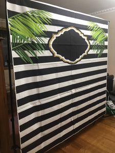 Backdrop tropical - Live Shopping Tours