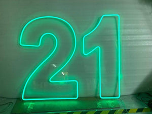 21st Neon Sign Hire - Live Shopping Tours