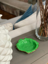 Load image into Gallery viewer, Kelly Green Porcelain Dishes