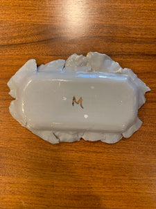 "Great Porcelain Petal Tray 7""x5"""