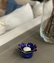 Load image into Gallery viewer, Cobalt Blue Votive