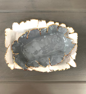Dark Gray Porcelain Dishes