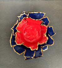 Load image into Gallery viewer, Bright Red Porcelain Dishes