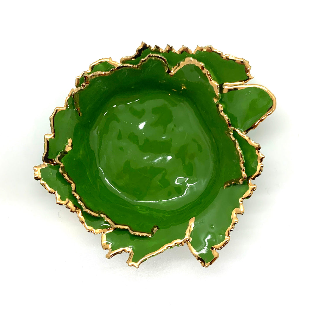 Leaf Green Porcelain Dishes