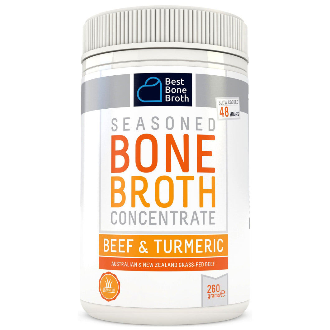 260g - Tumeric & Beef Bone Broth