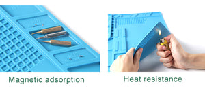 Heat Insulation Silicone Welding Pad Mat