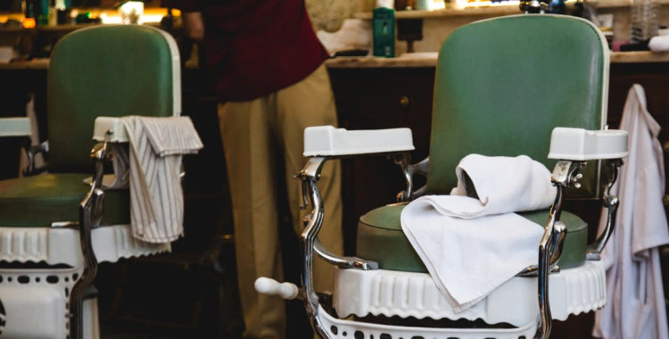 A barbers chair