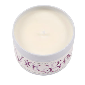 Violet Cognac Travel Candle 80g