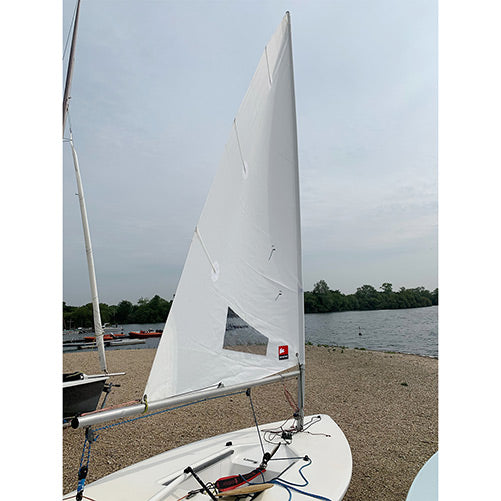 Laser 4.7 practice sail by Rooster Sailing