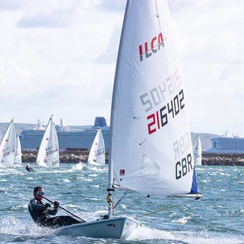 ILCA 6 Laser Radial Sail official