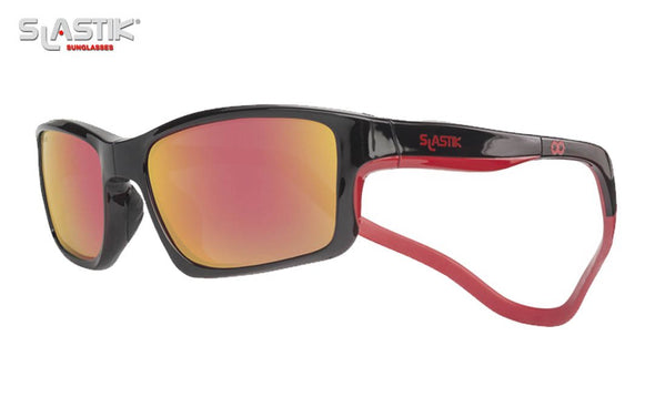 Polarized Sailing Sunglasses Slastik Black Red