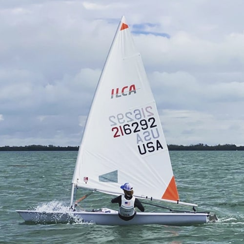 ILCA 4 Laser 4.7 sail North