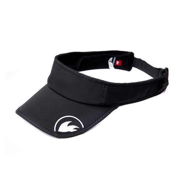 sailing visor black from rooster