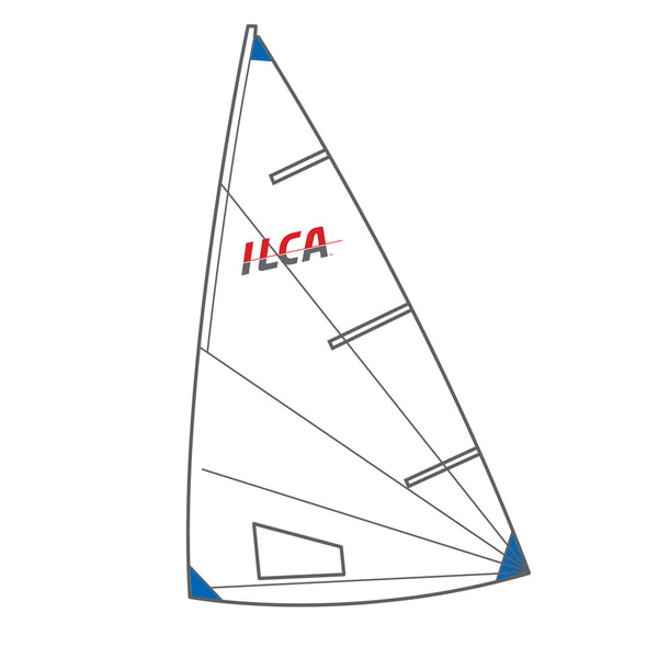 ILCA 6 Laser Radial Sail approved