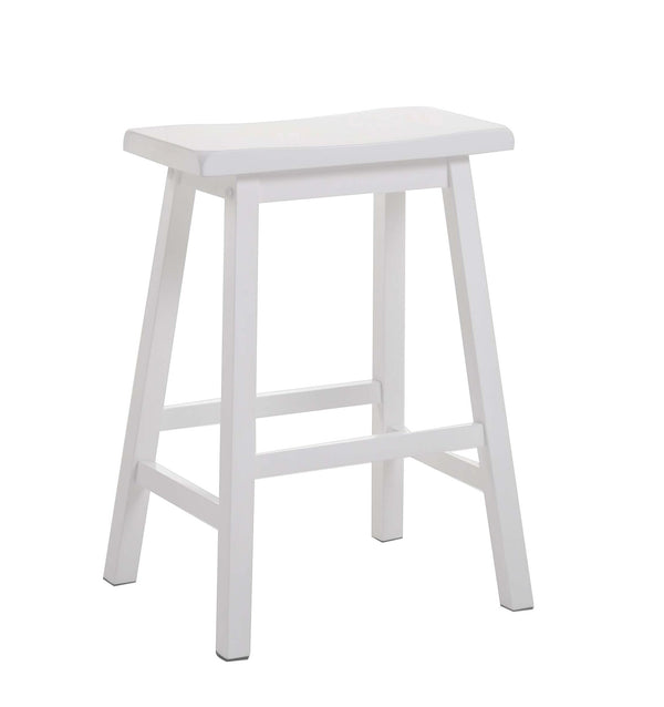 Gaucho White Counter Height Stool image