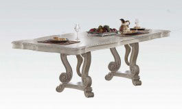 Acme Ragenardus Rectangular Dining Table in Antique White 61280 image
