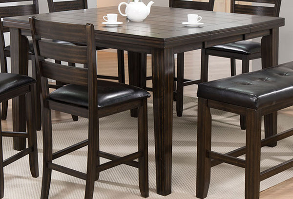Acme Furniture Urbana Counter Height Table in Espresso 74630 image