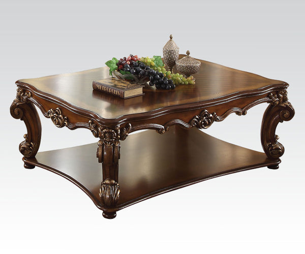 Acme Vendome Rectangular Coffee Table in Cherry 82000 image