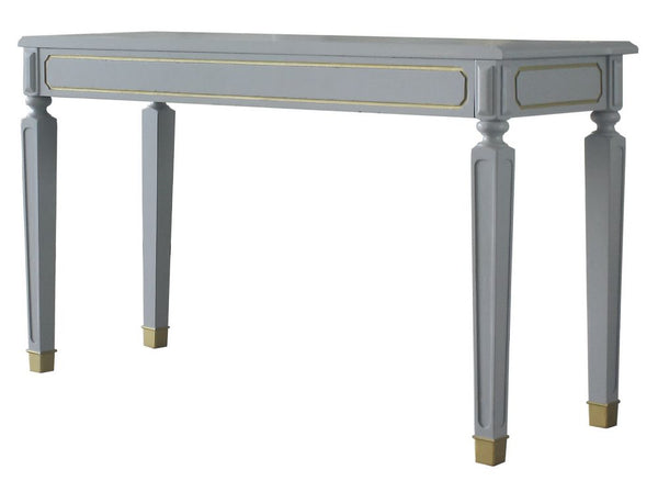 Acme Furniture House Marchese Sofa Table in Pearl Gray 88868 image