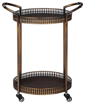 Clarkburn Signature Design by Ashley Bar Cart