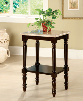 Santa Clarita Dark Cherry/Ivory Rectangle Stand