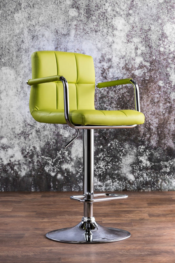 Corfu Lime Bar Stool image