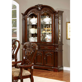 ELANA Brown Cherry Hutch & Buffet, Cherry