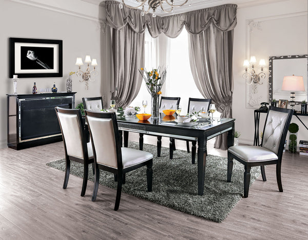 Alena Black 7 Pc. Dining Table Set image