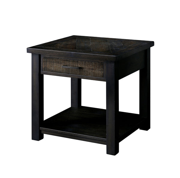 Rhymney Dark Oak/Multi End Table image