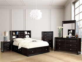 Yorkville Espresso 5 Pc. Queen Bedroom Set w/ 2NS