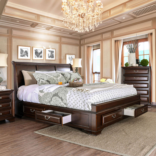 Brandt Brown Cherry Cal.King Bed image