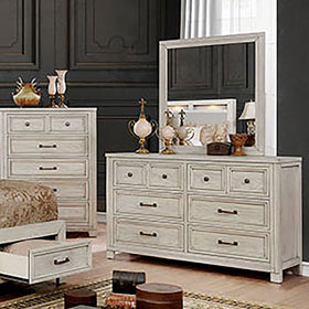 Tywyn Antique White Dresser