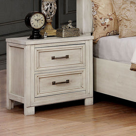 Tywyn Antique White Night Stand