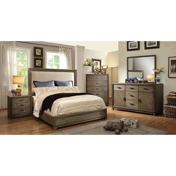 CARLSBAD Natural Ash/Ivory 4 Pc. Queen Bedroom Set image