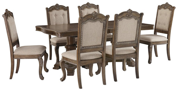 Charmond Signature Design 7-Piece Dining Room Package image