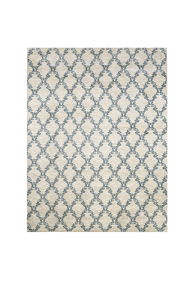 Acanthus Light Gray/Blue 5' X 8' Area Rug image